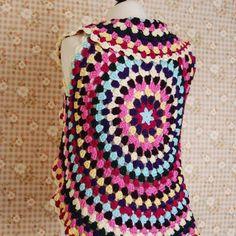 handmade round vest