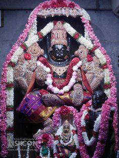Special Darshan of Sri Prahlada Narasimha (Sep This alankara for Lord Prahlada Narasimha is done on every Saturday after an elaborate early Abhishekam. Pray to Lord Narasimha for removing all obstacles. Lord Murugan Wallpapers, Lord Krishna Wallpapers, Baby Krishna, Radha Krishna Love, Lord Vishnu, Lord Shiva, Lord Balaji, Sai Baba Photos, Lord Krishna Images