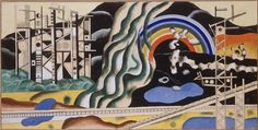 Transport forces by @artistleger #frenchart #fineart