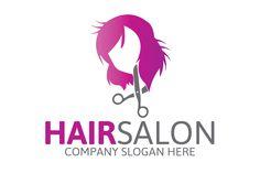 Hair Salon Logo by Josuf Media on @creativemarket