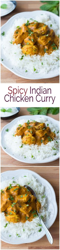 Spicy Indian Chicken Curry                                                                                                                                                                                 More