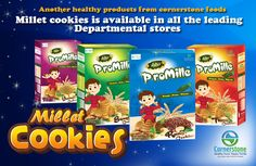 Millet cookies in different flavors and have different nutrition values based on the ingredients. we provide healthy cookies for better life. Nutritional Value, Healthy Cookies, Better Life, Pop Tarts, Cereal, Beverages, Snack Recipes, Foods, Snack Mix Recipes