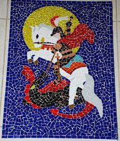 São Jorge #saojorge #mosaic
