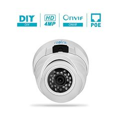 Reolink RLC-420 4MP HD 2560x1440P IP Camera Outdoor Night Vision Motion Detection Email Alert