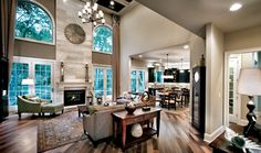 Toll Brothers The Princeton Family Room