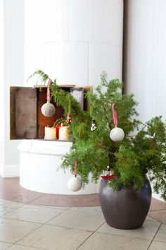Hildas hem: PYSSELTIPS: Gör om dina julgranskulor julpynt, DIY, christmas balls