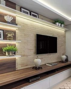 top 10 best Modern House TV Unit Interior Designs Modern Tv Room, Modern Tv Wall Units, Modern Living, Modern Hall, Modern Closet, Living Room Wall Units, Living Room Tv Unit Designs, Tv Wall Unit Designs, Living Rooms