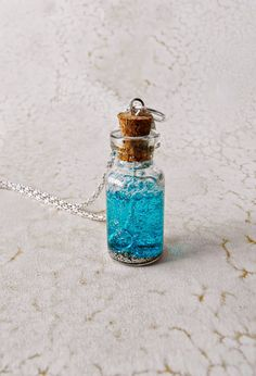 "DIY Fairy Dust Bubble Wand Necklace by Crafty Little Gnome Brought to you by BlogHer and Disney's ""The Pirate Fairy,"" an All-New Tinker Bell Movie on Blu-ray and Digital HD Apr 1"
