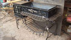 Мангал кованый с печкой - Мои изделия - Галерея - Металлический форум