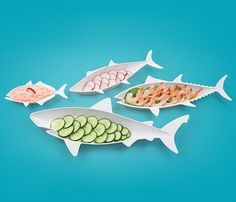 Fancy - Fish Food Nesting Dishes