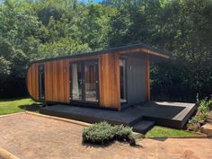 Modular Group Design and Manufacture Luxury Holiday Lodges, Glamping pods and Garden Rooms. British Made Next Generation Eco Buildings Built with SIPS Shed To Tiny House, Tiny House Cabin, Modular Cabins, Modular Homes, Building Systems, Building Design, Building Ideas, Cabins In The Woods, House In The Woods