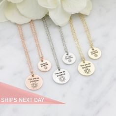 Bridesmaid Gift,Gift for Her,Gift for Daughter Custom Jewelry Personalized Gift For Mom Necklace For Women Custom Laser Engraved Jewelry