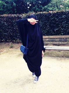 islam, niqab, khimaar beauty afbeelding Jilbab, Hijabi Girl, Hijab Niqab, Muslim Girls, Modest Outfits, Modest Clothing, Veil, Womens Fashion, How To Wear