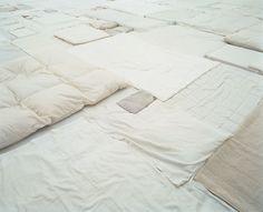 gallowhill:  Fernanda Gomes - Quilted installation atKunstmuseum Bonn, 1999