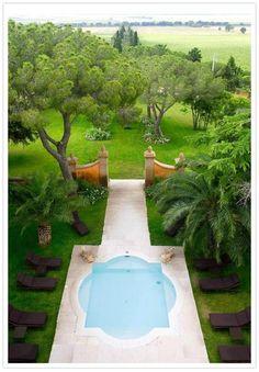 An amazing pool....