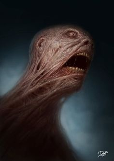 As ilustrações de personagens de terror de Dennis Carlsson