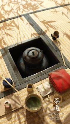 茶道 japanese tea cha no yu Matcha, Pu Erh, Japanese Tea House, Japanese Tea Ceremony, Tea Ceremony Japan, Tea Culture, Japanese Interior, Japanese Furniture, Japanese Design