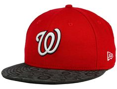 Nationals Flective Viz 59Fifty Fitted Cap by NEW ERA x MLB