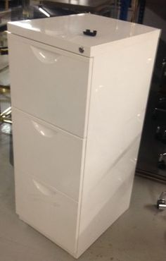 White pedestal Superhire Height: 104cm Width: 41cm Depth: 50cm Pedestal, Filing Cabinet, Lab, Storage, Furniture, Home Decor, Purse Storage, Decoration Home, Room Decor