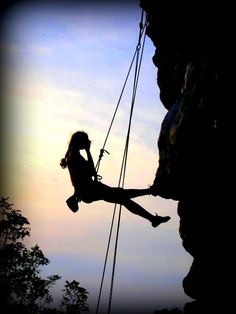 rockclimbing...that's if I was an adventurous brave soul, which I have to admit I'm not....but looks very awesome and relaxing