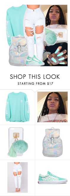 """"" by daeethakidd ❤ liked on Polyvore featuring HUF, Ashlyn'd and Vans"