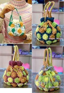Crazy for arts - Bags: COLOURFUL BAG