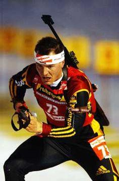 Sven Fischer (GER), great biathlonist!