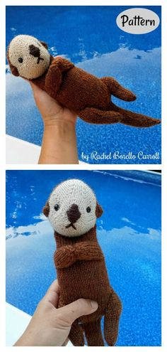 Sea Otter Knitting Pattern