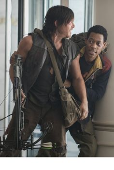 "The Walking Dead Season 5x06 ""Consumed"" Daryl & Noah"