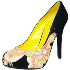 Ed Hardy Shoes, Emma Pumps found on Polyvore