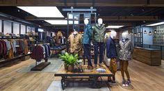 Retail design timberland store design