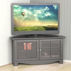Nexera Pinnacle 49 Two Door Corner TV Stand in Black 2 Door Tv Stand, Flat Screen Tv Stand, Black Corner Tv Stand, Corner Tv Console, Walmart Online, Swivel Tv Stand, Television Stands, Cool Tv Stands, Tv Furniture
