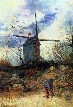 Le Moulin de la Galette, 1886, by Vincent van Gogh
