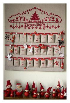 Beautiful advent calendar/Precioso calendario de adviento
