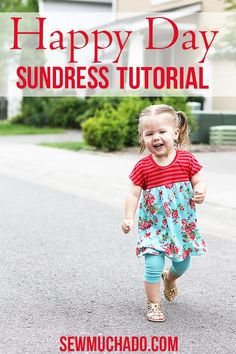 Happy Day Sundress Tutorial: 30 Days of Sundresses