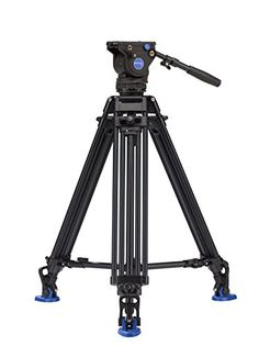 Benro BV6 Pro Twin Leg Aluminum Video Tripod Kit (BV6PRO) -- More info could be found at the image url.