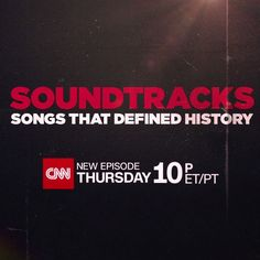 Always fascinating discovering the powerful role THE MUSIC plays.   Join us THIS THURS for our CNN #Soundtracks as we take a look at the polarizing Vietnam War thru the perspective of the Kent State shootings. Powerful and emotional episode.   Our Seven Bucks Productions & Show of Force is very proud of the quality we're delivering every week for you and even more so, with the dialogue it inspires. Thank you for tuning in.