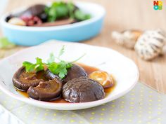 Braised Mushrooms Recipe