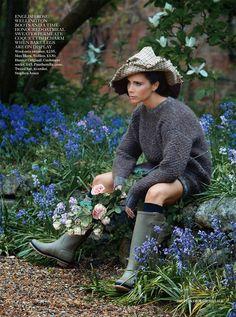 Victoria Beckham by Patrick Demarchelier for Vogue UK, August 2014