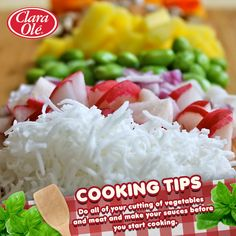 With all the Christmas parties coming up, time is essential. Remember to utilize your cooking preparations ahead of time for easy and hassle-free cooking!