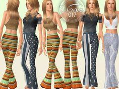 Sims 3 Downloads - 'boho'