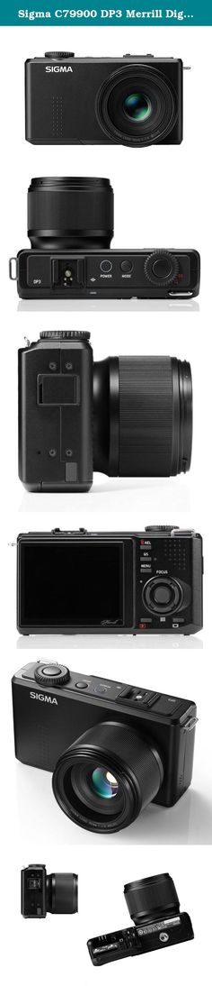 Sigma C79900 DP3 Merrill Digital Camera with Foveon sensor and 3-Inch LCD Screen (Black). 46 megapixel Direct Image sensor.