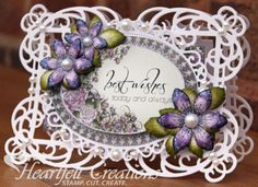 Heartfelt Creations | Best Wishes all available at the Bamboo Room Crafts In Bonners Ferry, Idaho