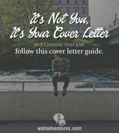 The right way to do a cover letter! Getting a new job. Applying for new jobs. Did you not get an interview? Maybe your cover letter needs updating. What can you add to your cover letter to make it stand out. Cover Letter Tips, Cover Letter For Resume, Cover Letters, Writing A Cover Letter, Find A Job, Get The Job, Job Hunting Tips, Job Search Tips, Job Search Websites