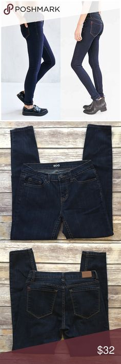 """BDG Midrise Twig Ankle Jeans BDG Midrise Twig Ankle Jeans. Waist 27""""/ length 29"""". Dark wash denim. Worn a few times. Overall very good condition. No rips, tears or marks Urban Outfitters Jeans Ankle & Cropped"""