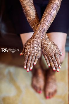Mehandi Pics from Indian wedding
