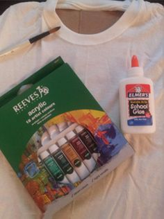 Supplies for Kid-Friendly Batik Project