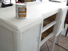 Lake Girl Paints: A Feast is made for Laughter - Buffet, seal tops of pieces with polyacrylic