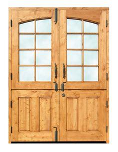 Dutch Doors - Double Dutch French Doors - 3222RP. For sunroom/playroom