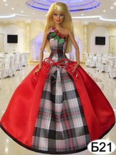 Платья для кукол Барби